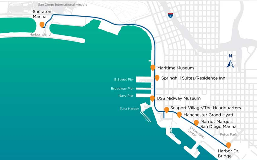 Waterfront Shuttle Information