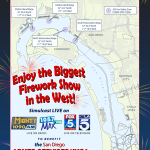 Big Bay Boom Barge Chart 2015 San Diego Bay